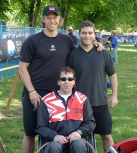 At the World Triathlon Championships 2008