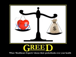 Greed Healthcare